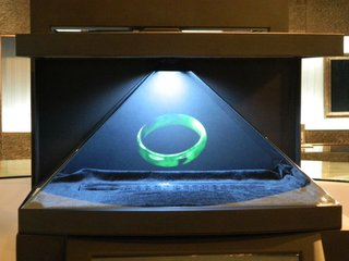 More and More Popular 3D Holographic Projection